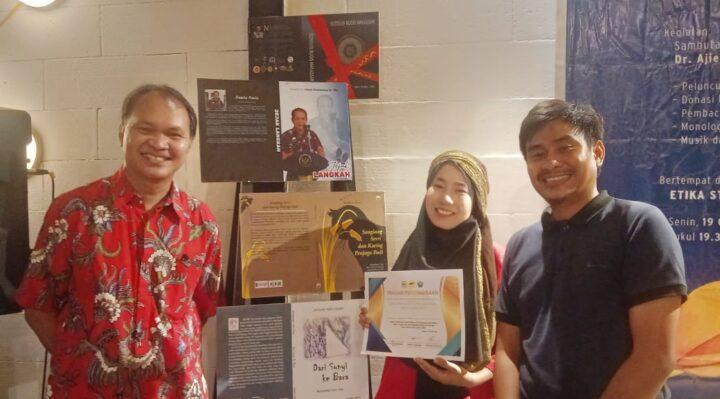 Launching Bersama Buku Sastra di HUT Sulsel Ke-351